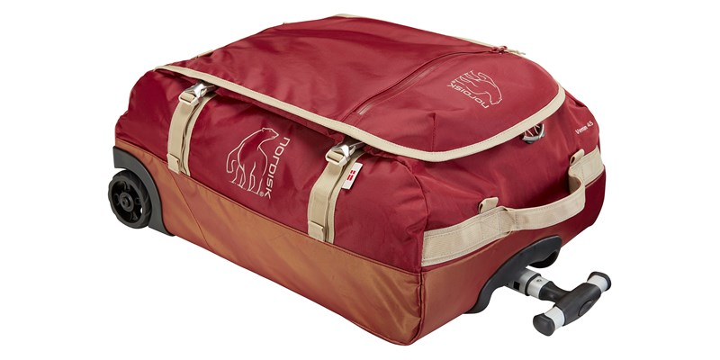 verran 45 133102 nordisk cabin sized wheeled duffel burnt red 03
