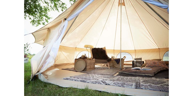 asgard 12 6 m2 142023 nordisk classic retro bell tent technical cotton glamping by etnyhjem denmark 2017 5