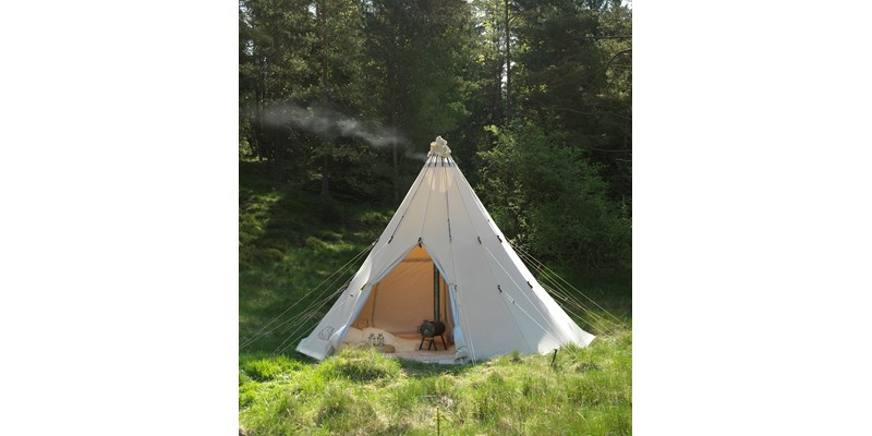 alfheim 19 6 m2 142014 nordisk classic retro tepee tent technical cotton on location 7
