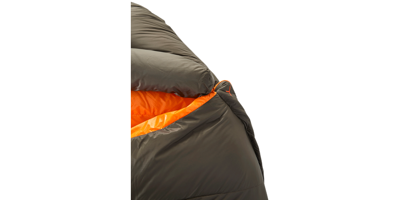 arctic 1100 77621 77631 77641 nordisk down sleeping bag coffee orange 04_low res