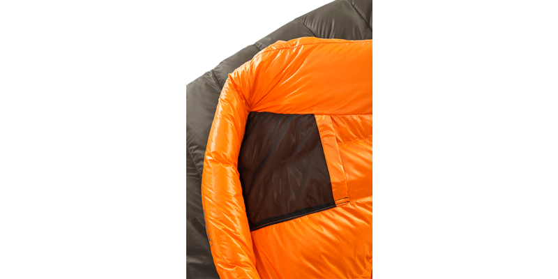 arctic 1100 77621 77631 77641 nordisk down sleeping bag coffee orange 06_low res