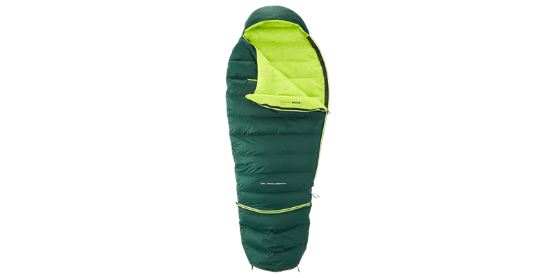 tension junior 84821 nordisk down sleeping bag scarab lime 02_low res