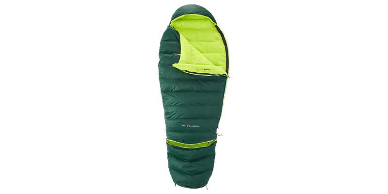 tension junior 84821 nordisk down sleeping bag scarab lime 03_low res