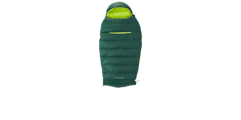 tension junior 84821 nordisk down sleeping bag scarab lime 05_low res