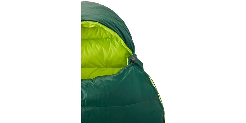 tension junior 84821 nordisk down sleeping bag scarab lime 09_low res