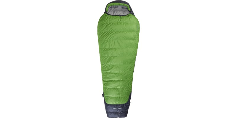 celsius minus 10 110207l nordisk mummy shape sleeping bag peridot green front