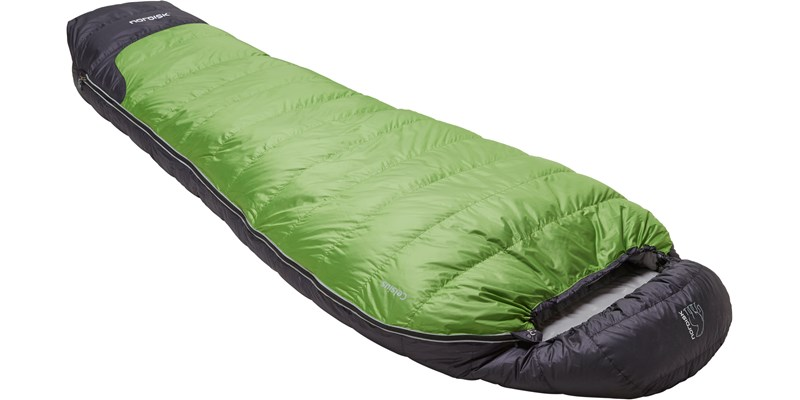 celsius minus 3 110204l nordisk mummy shape sleeping bag peridot green slanted