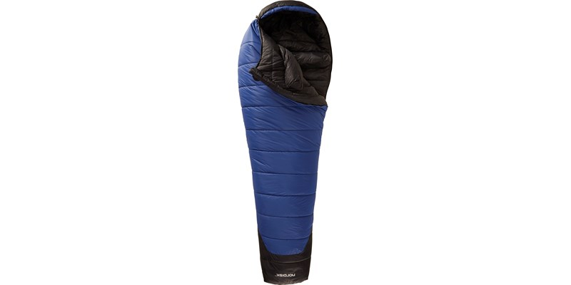 gormsson minus 20 110413 nordisk mummy shape sleeping bag limoges blue front open