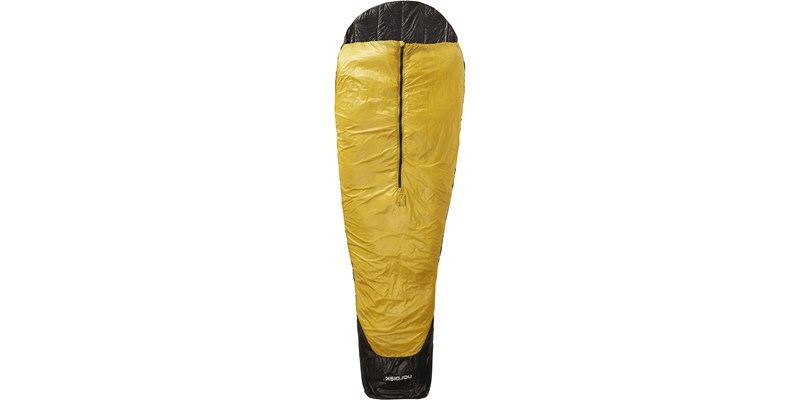 oscar plus 10 110425 nordisk mummy shape sleeping bag black front