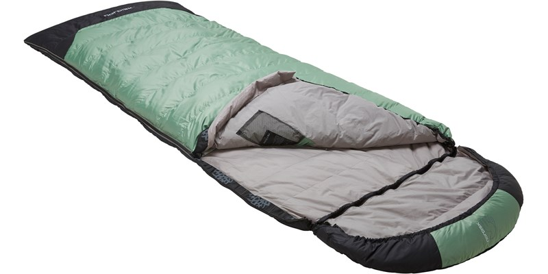 selma 0 110219l nordisk rectangular shape sleeping bag mineral green slanted open top
