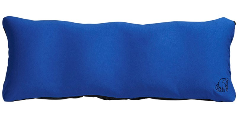 dag 114041 nordisk inflatable packable modular pillow limoges blue front