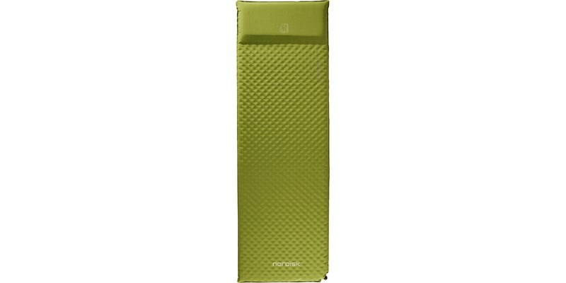 bornholm 50 114025 nordisk 5 cm selfinflatable mat peridot green front