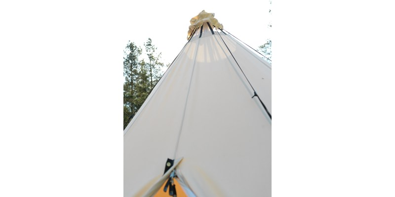 alfheim 12 6 m2 142013 nordisk classic retro tepee tent technical cotton detail