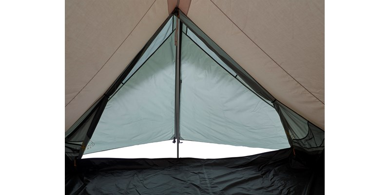 faxe 3 pu 122028 nordisk classic asymmetric three man tent dusty green inside