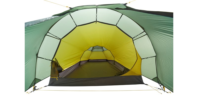 halland 2 pu 122035 nordisk classic tunnel two man tent dusty green inside 1