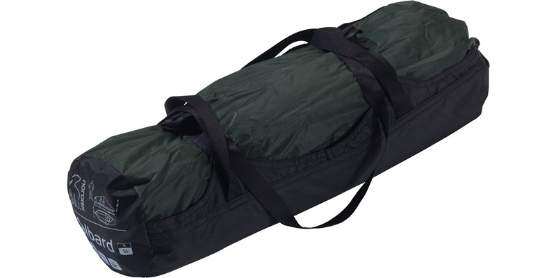svalbard 1 si 112027 nordisk classic tunnel one man tent forest green packsack
