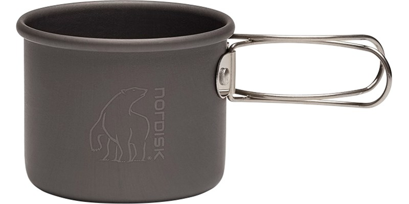 aluminium mug 200 ml 119037 nordisk unfolded