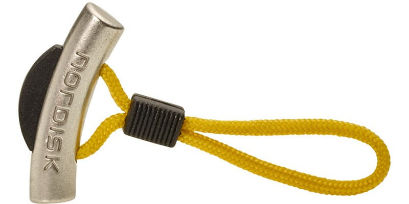 zipper puller thors hammer 119076 nordisk yellow