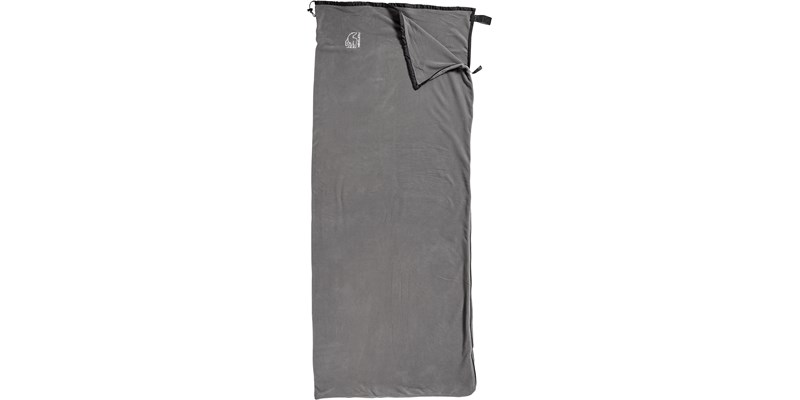fleece liner blanket 106002 nordisk dark grey front