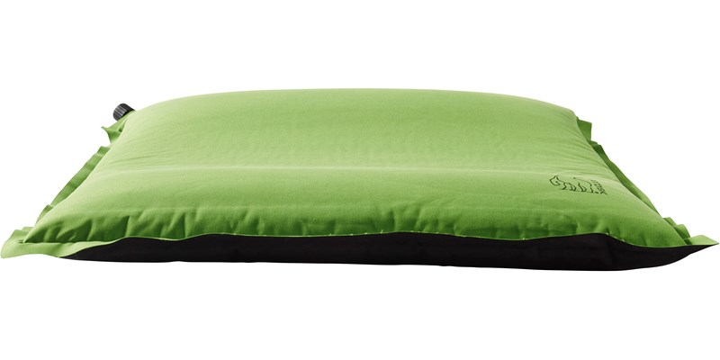 morgen inflatable packable ergonomical pillow 114042 nordisk green side