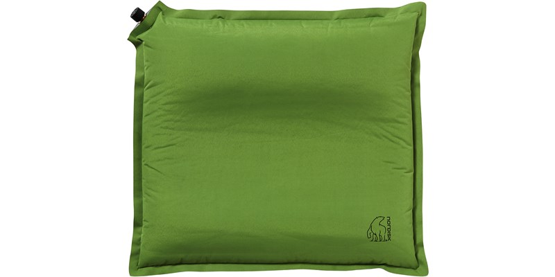 morgen inflatable packable ergonomical pillow 114042 nordisk green front